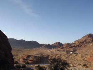 The was like a mini Wadi Rum