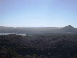The view in San Juan