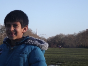 A London park