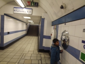 How did we get an empty tube station?