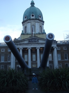 Outside the War Museum