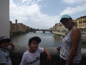 The river in Florence