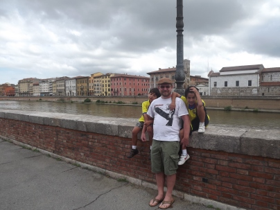 The river in Pisa