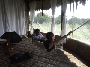 Our Amazonian living room
