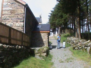 Our cottage in Harlech was A1
