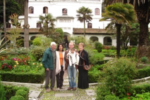 The family at the Cienega