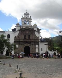 The church in Guapulo