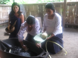 The women made chicha