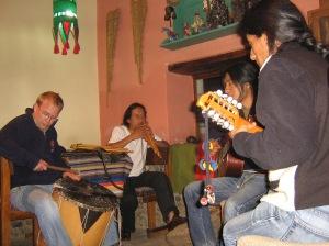Rocking at Aya Huma