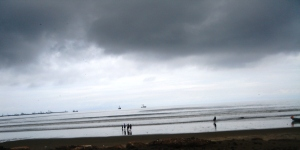 The pacific coast is not all sunny skies