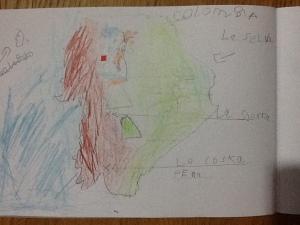 Danny's Ecuador map