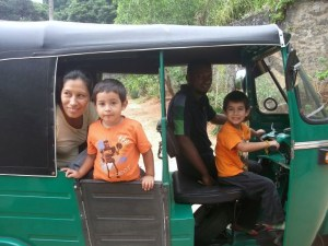 Guess what kids love tuk tuks