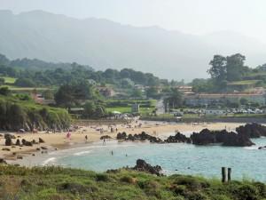 The beach at Punta Radon