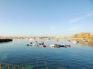 the harbour at Cudillero